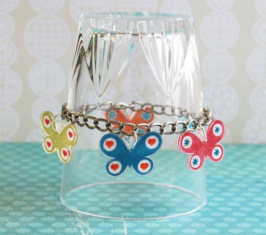 Flutterby Bracelet - Scrapbook.com