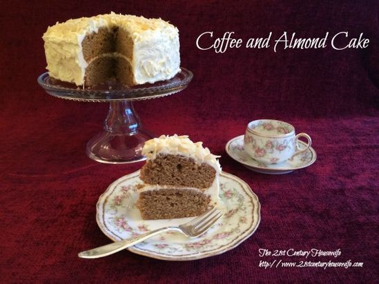 Coffee and Almond Ca