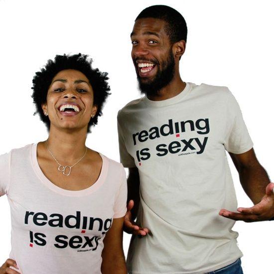Tee: Reading Is Sexy by Exittheapple / Oyin Handmade Oyin Handmade