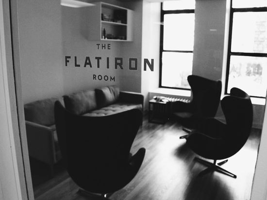 #Tumblr headquarters meeting room #office #Flatiron #NYC #CM5thAve