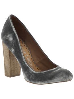 Velvet heels @ piperlime.gap.com...
