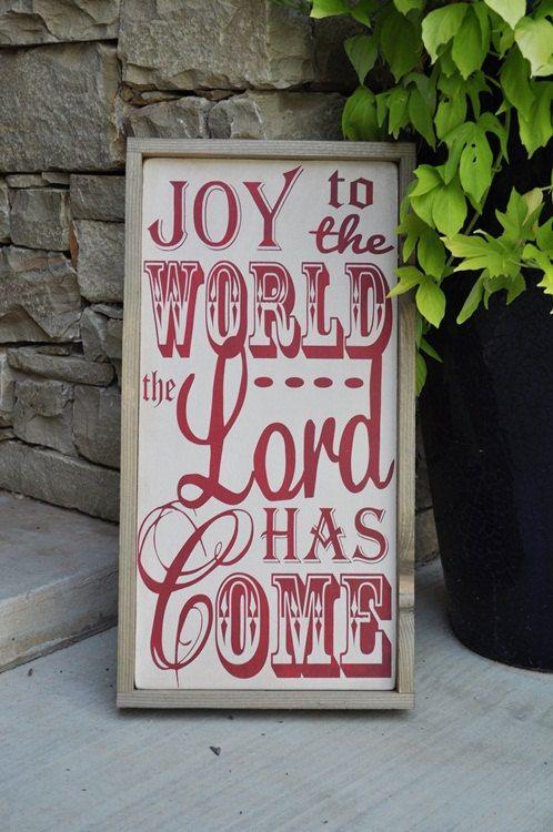 LOVE THIS! Christmas Decor Christmas Sign Christmas Decoration