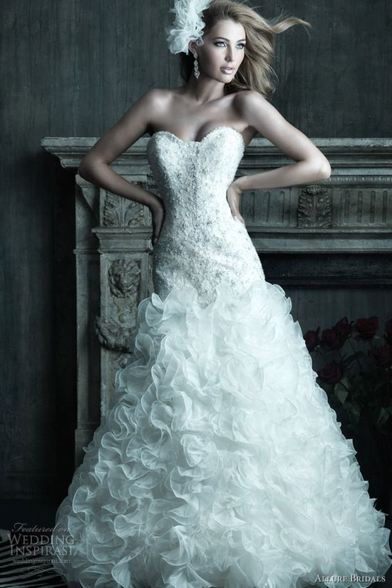 allure couture 2012 wedding dresses