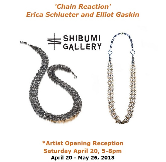 EXPO 'chain reaction' Shibumi gallery