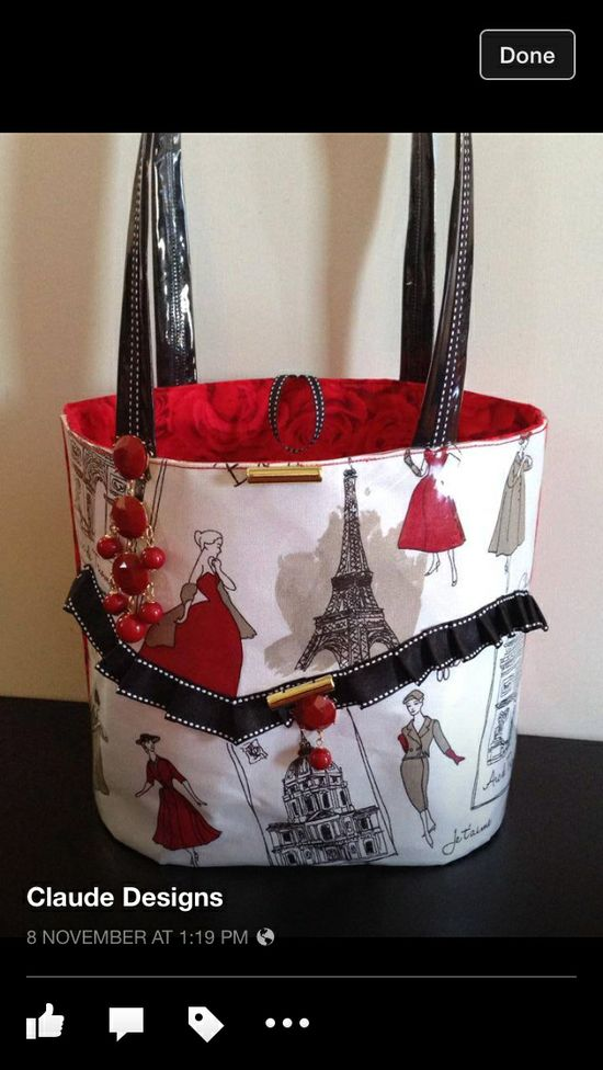 Awesome handbag from Claude designs - they have a stall at southbank in Brisbane!!