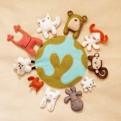 Sew some funny animals