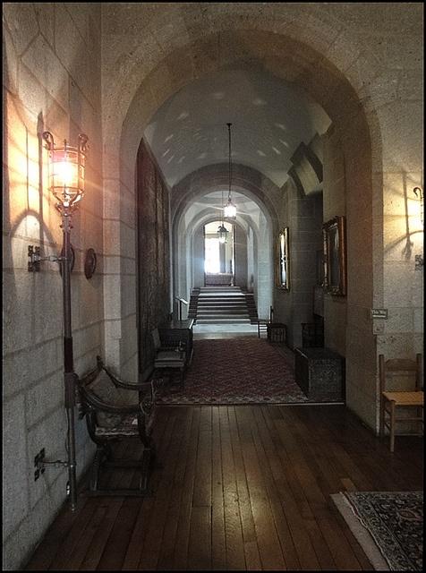 Castle Drogo interior