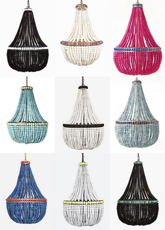 chandelier ideas...you can make...see next pin