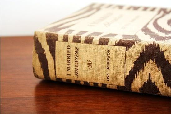 animal print covered books
