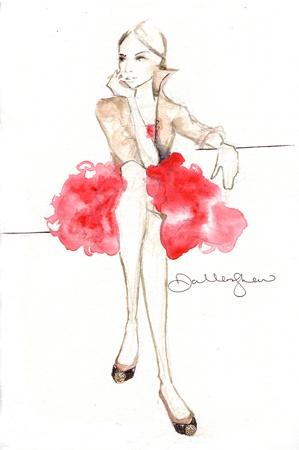 ? fashion illustration