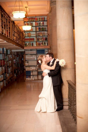 Library wedding inspiration!