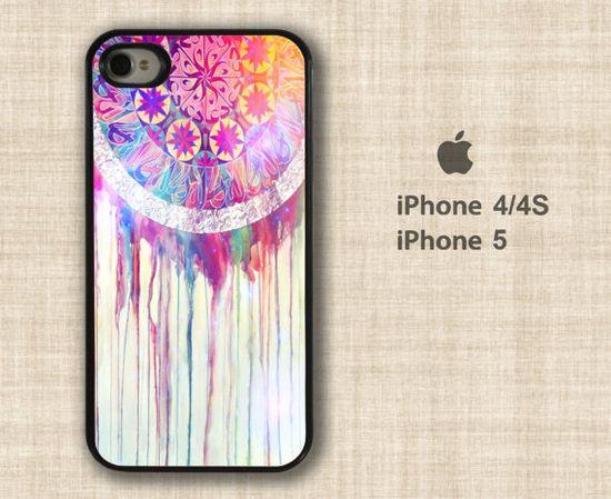 Dreamcatcher iPhone 4 case - iPhone 4s case - iPhone 5 case - iPhone 4 silicone rubber - iPhone 5 skin
