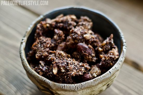 Chocolate Nut Granola