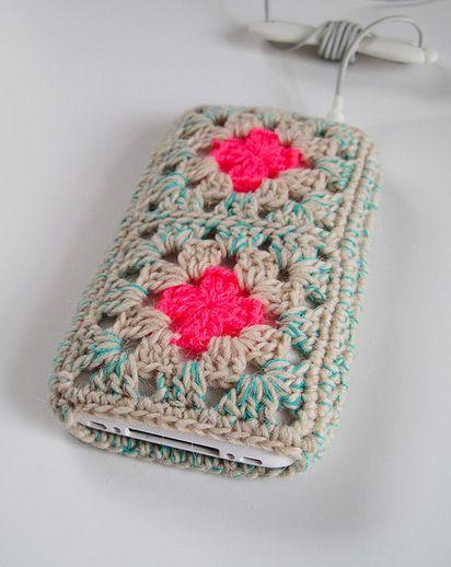 granny square iphone case