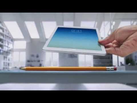 iPad Commercial - voiced by Bryan Cranston (aka Walter White from Breaking Bad)