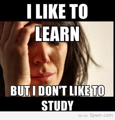 First world College problems via 5pwn.com