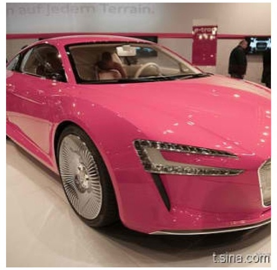 Pink Exotic Car ? Girly Cars for Female Drivers! Love Pink Cars ? It's the dream car for every girl ALL THINGS PINK!