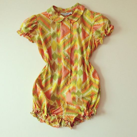 romper with Aztec pattern