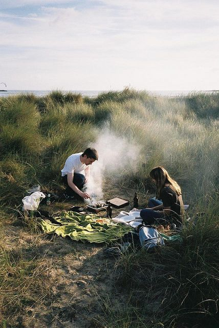 Outdoor camping picnic//