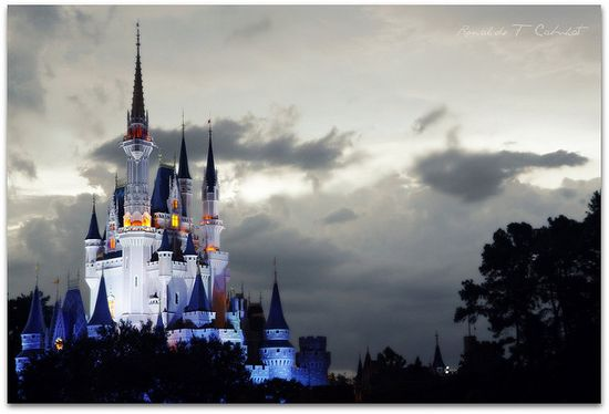 Love this photo of Cinderella's Castle at Walt Disney World.