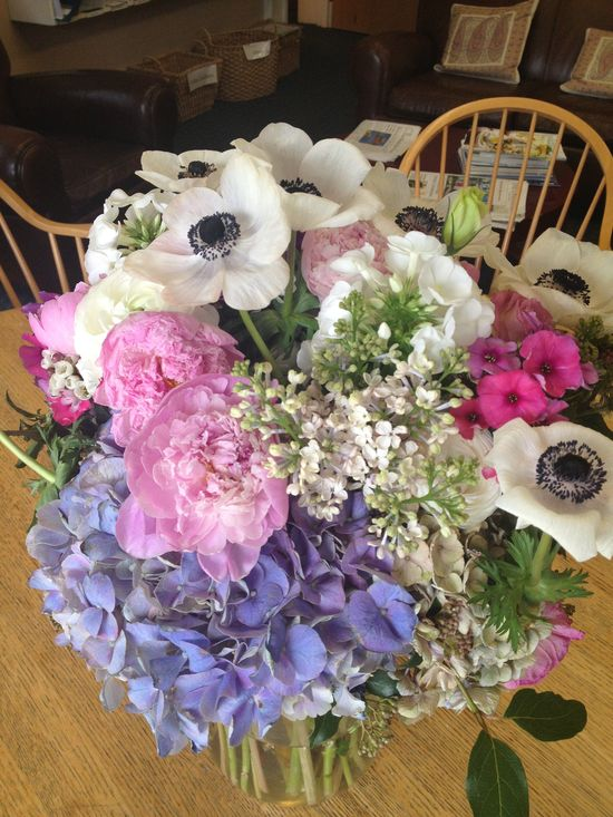 Beautiful flower arrangement - February