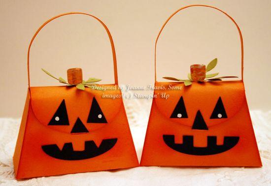 Petite Purse Die Pumpkin
