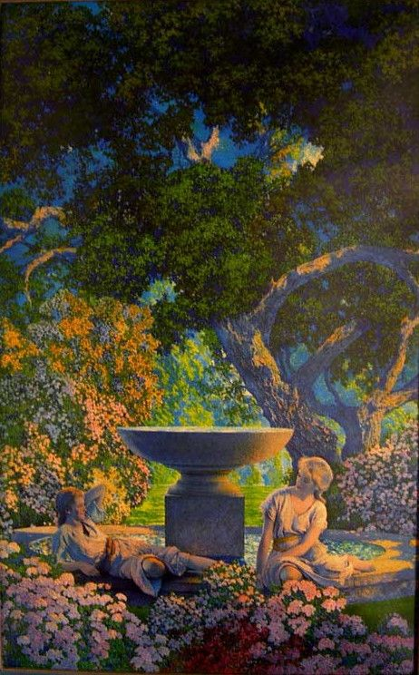 """Golden Reveries"" by Maxfield Parrish"