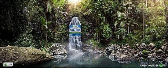 Print ad: Woolworths Spring Water: Spring
