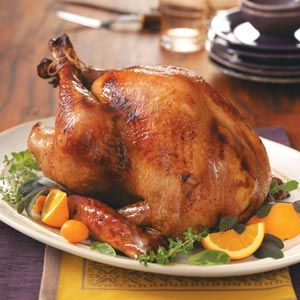 Southern Thanksgiving Recipes from Taste of Home, including Hickory Turkey Recipe #grilled #turkey
