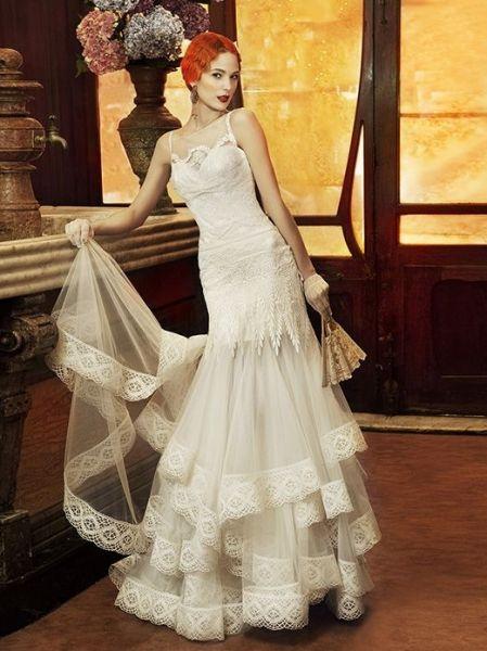 Yolan Cris #vintage wedding dress