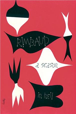 #lustig #graphic #design #book #cover #Rimbaud #modernism #illustration
