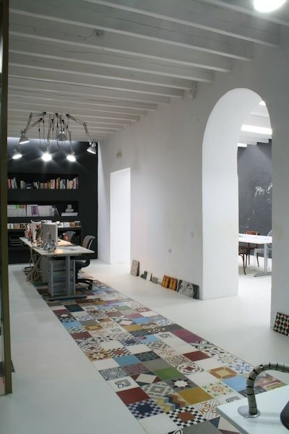 Patchwork floor design     #floor #home