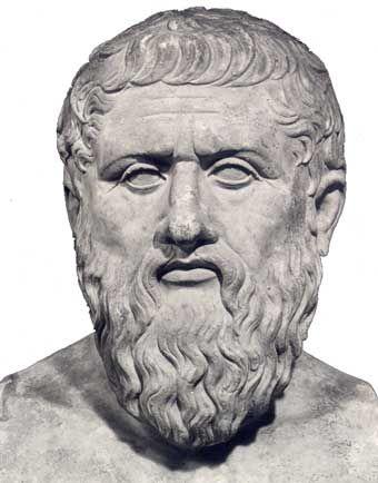 rzeźba przedstawiająca Platona