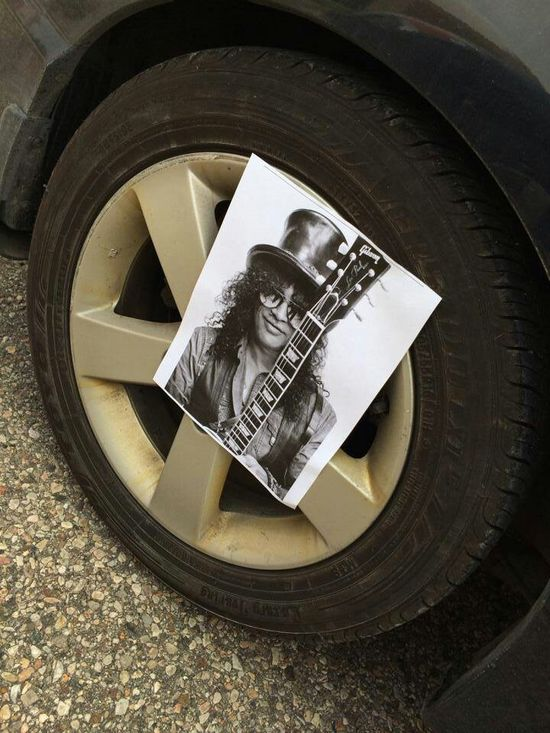 Funny prank, Tell someone you Slashed their tires, idea by a former teacher of mine.