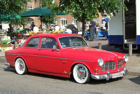 Volvo Amazon - Red Custom Car