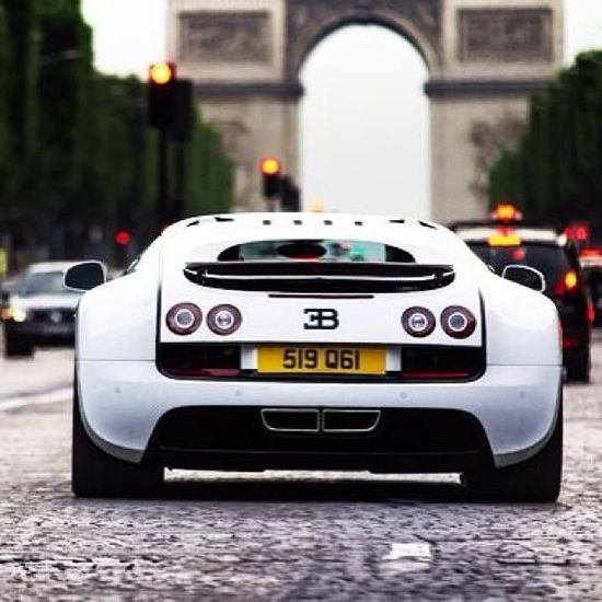 Bugatti Veyron - Le Paris