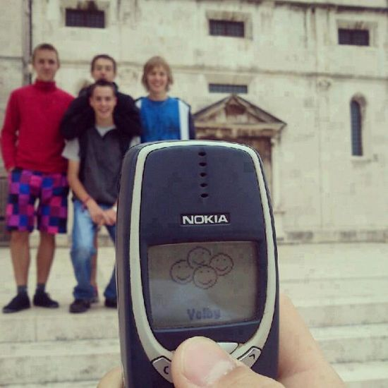 Family Photo with a Nokia
