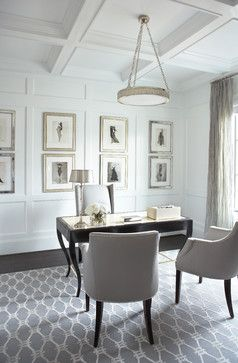 Hollingsworth Park - traditional - home office - Linda McDougald Design