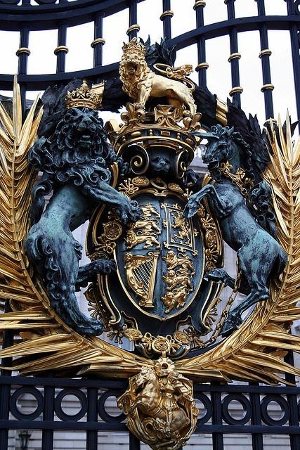 Doors of Buckingham Palace, UK