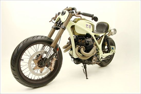 "Honda CB836CR ""Sentoh"" - AFT Customs - Pipeburn - Purveyors of Classic Motorcycles, Cafe Racers & Custom motorbikes"