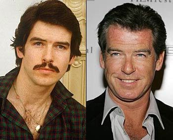 Pierce Brosnan...a handsome guy then and more so now!