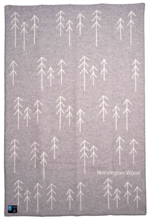 norwegian wood blanket