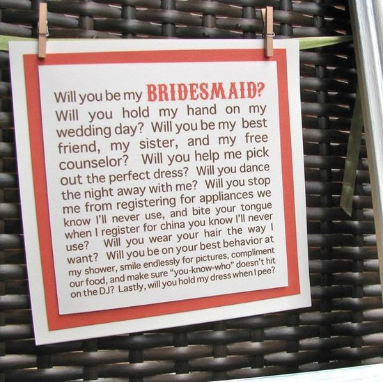 to my bridesmaids.. :)