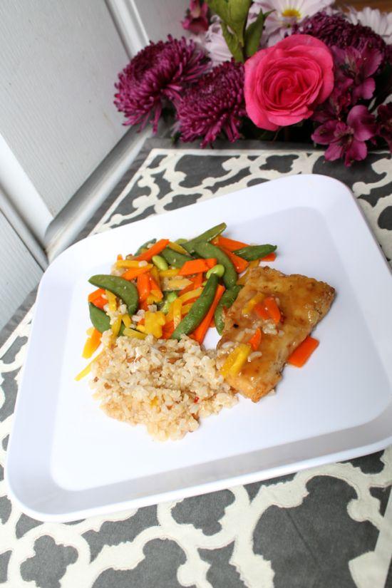 Lean Cuisine Honestly Good - Lemongrass Salmon - 100% All Natural Ingredients