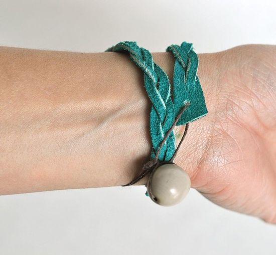 dD leather bracelet!