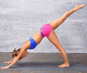 use Yoga to strengthen your abs! With just 10 workouts 3 times a week!!