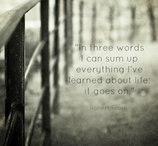 3 words about life