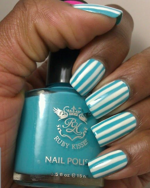 #Polish Your #Nails Like This