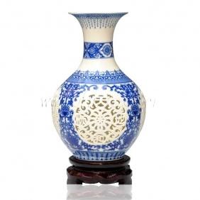 Creative Handmade Modern Hollow Art Vase