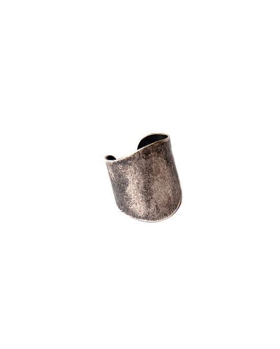 Antique Silver Cigar Band Ring